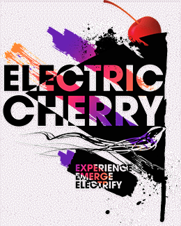 Electric Cherry Hair